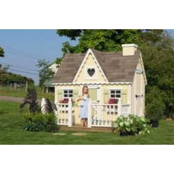 Little Cottage Company Victorian 6' x 8' Playhouse Kit (6x8 VP-WPNK)