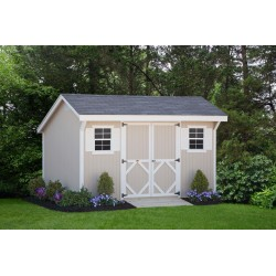 Little Cottage Company Classic Saltbox 8' x 8' Storage Shed Kit (8X8 CWSB-WPNK)