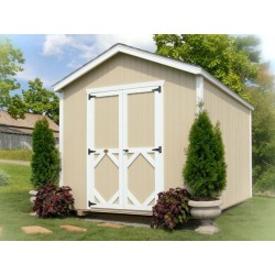 Little Cottage Company Classic Gable 8' x 10' Storage Shed Kit (8X10 CWGS-WPNK)