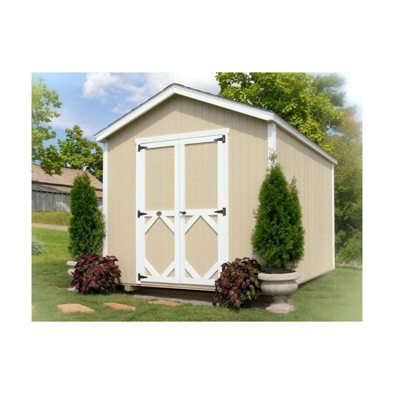 Little Cottage Company Classic Gable 8' x 12' Storage Shed Kit (8X12 CWGS-WPNK)
