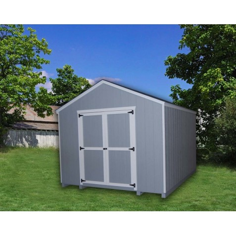 Little Cottage Company Gable 12' x 24' Storage Shed Kit (12X24 VGS-WPC)