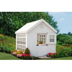 Little Cottage Company Colonial Gable Greenhouse Panelized kit 8x12 (8X12 LCG-RPNK)