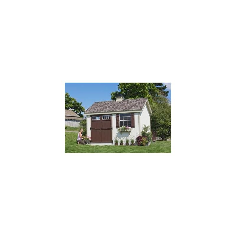Little Cottage Company Colonial Pinehurst 8' x 16' Storage Shed Kit (8X16 PCGS-WPNK)