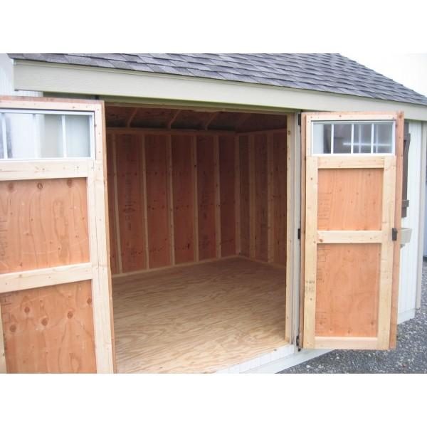 Little Cottage Company Colonial Pinehurst 12u0027 X 20u0027 Storage Shed Kit (12X20  PCGS WPNK)