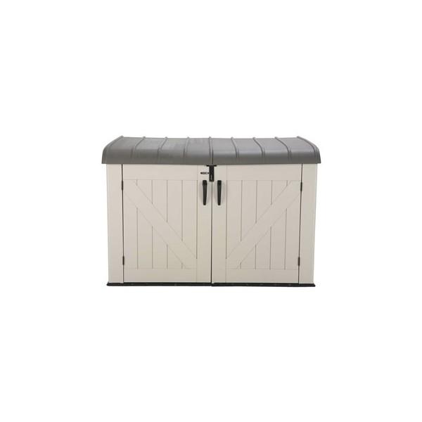 lifetime horizontal outdoor storage box 60170 - Garden Storeage Boxes