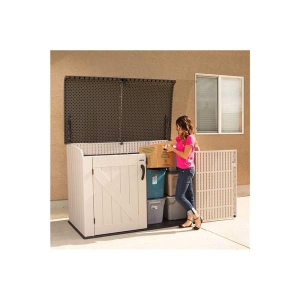 Lifetime Horizontal Outdoor Storage Box 60170