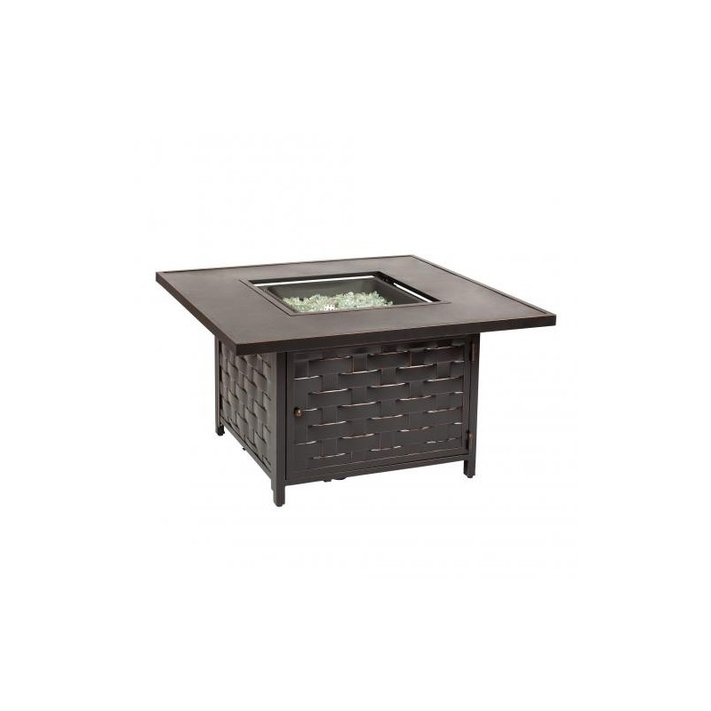 Fire Sense Armstrong Cast Aluminum LPG Fire Pit Table (62572)