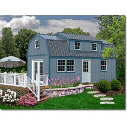 Best Barns Lakewood 12x24 Wood Storage Shed Kit (lakewood_1224)