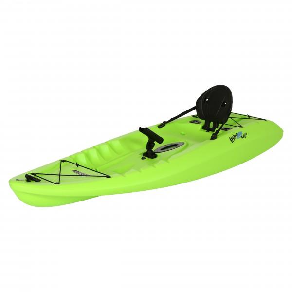 Lifetime hydros angler kayak lime green 90785 for Lifetime fishing kayak