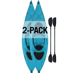 Lifetime Payette 116 Kayak 2 Pack- Glacier Blue (90832)