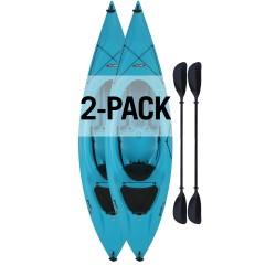 Lifetime Payette 116 Kayak 2 Pack- Glacier Blue (90832)
