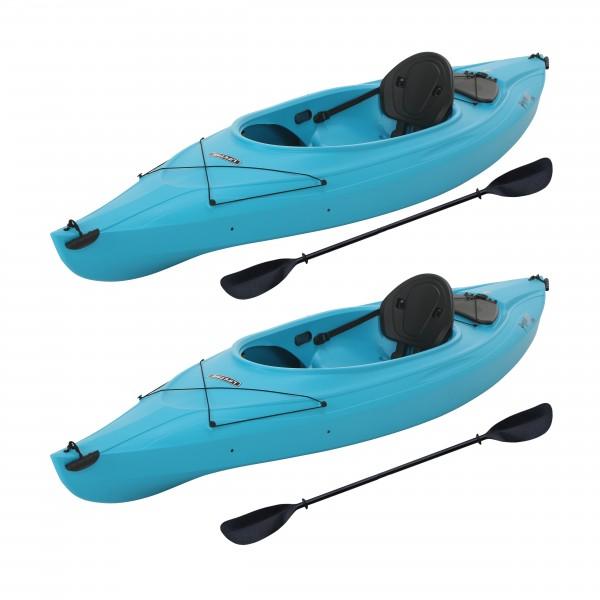 116 2: Lifetime Payette 116 Kayak 2 Pack- Glacier Blue (90832