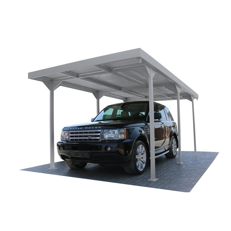 Duramax 9x17 Palladium Car Shelter Kit (10072)