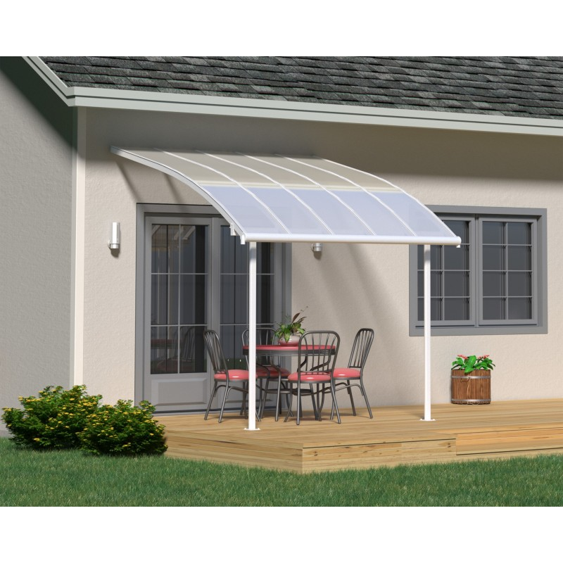 Palram 10x10 Joya Patio Cover Kit - White (HG8910)