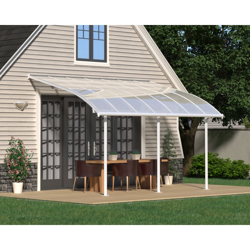 Palram 10x14 Joya Patio Cover Kit - White (HG8914)