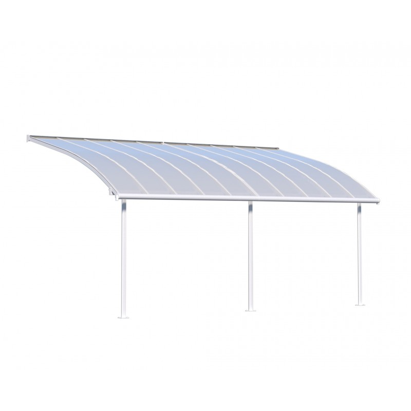 Palram 10x20 Joya Patio Cover Kit - White (HG8920)