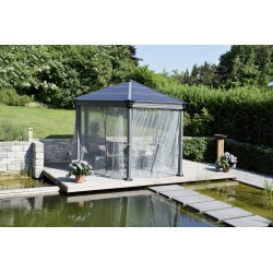 Palram Roma Gazebo Netting Set - 6 piece (HG1058)