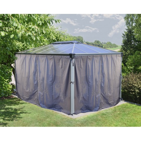 Palram Martinique Gazebo Curtain Set - 4 piece (HG1061)