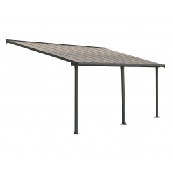 Palram 10x20 Olympia Patio Cover Kit - Gray Bronze (HG8820)