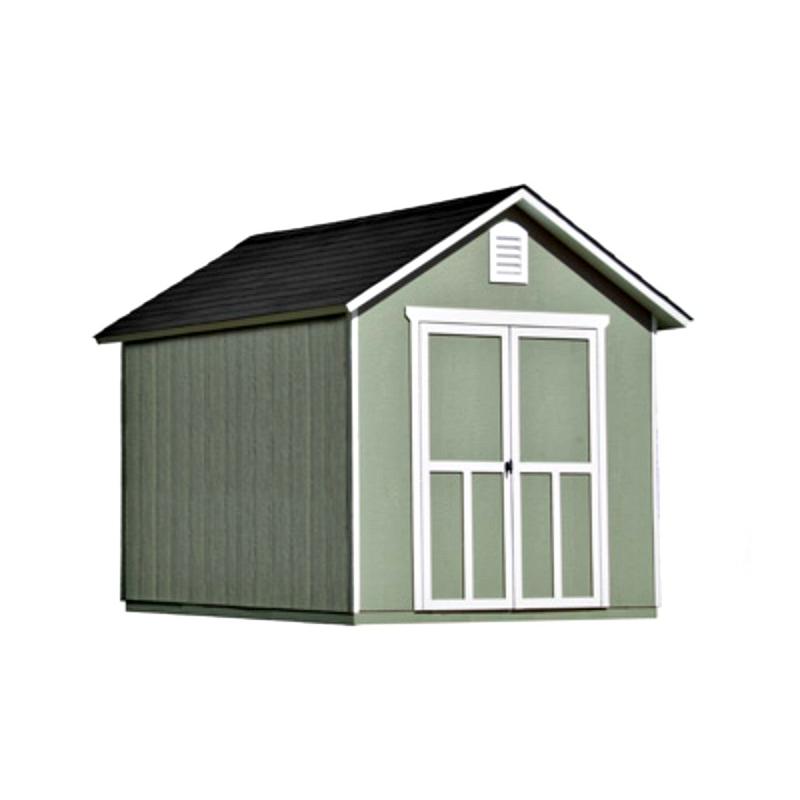 Handy Home Meridian 8×10 Wood Storage Shed Kit (19347-7)