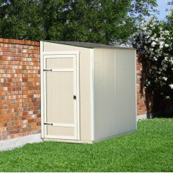 Handy Home Victoria 8x4 Wood Storage Lean-To Shed Kit