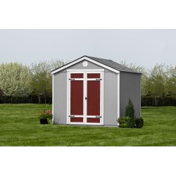 Handy Home Pinehurst 8x8 Wood Storage Shed Kit w/ Floor