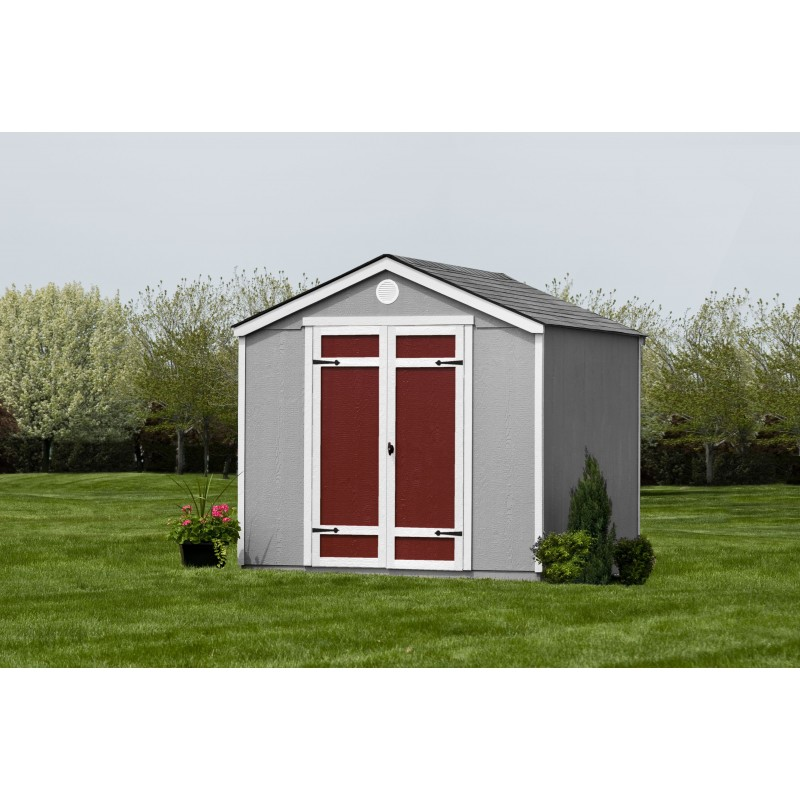 Handy Home Pinehurst 8x8 Wood Storage Shed Kit w/ Floor