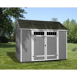 Handy Home Bridgeport 10x8 Wood Storage Shed Kit (HHPBRIDGEPORT10X8)