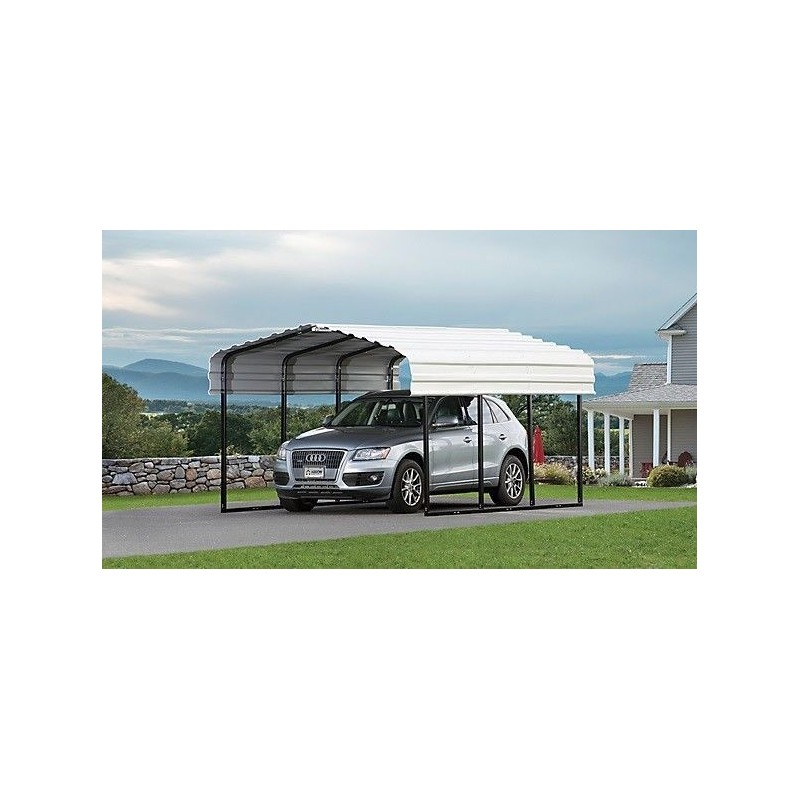 Arrow 10x29x7 Steel Carport Kit (CPH102907)