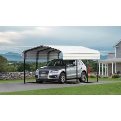 Arrow 10x24x7 Steel Carport Kit (CPH102407)