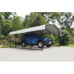 Arrow 12x24x7 Steel Carport Kit (CPH122407)