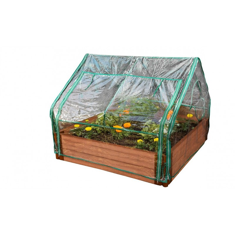 Frame It All Board Extendable Cold Frame Greenhouse - Green (300001016)