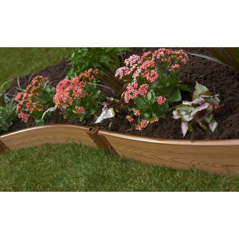 Frame It All Classic Sienna Backyard Border Kit 16x1 - Curved (300001035)