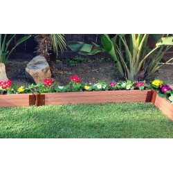 Frame It All Classic Sienna Backyard Border Kit 16x1 - Straight (300001040)