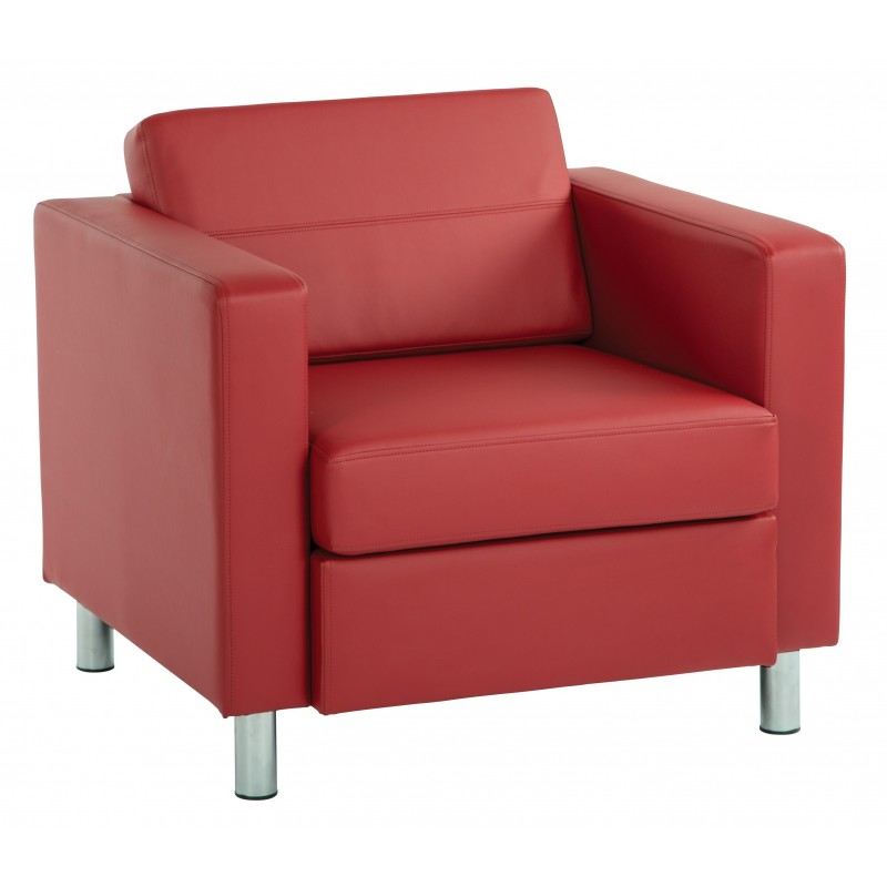 OSP Designs Pacific Armchair - Red (PAC51-R100)