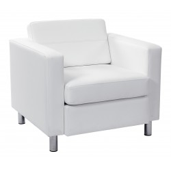 OSP Designs Pacific Armchair - White (PAC51-R101)