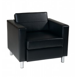 OSP Designs Pacific Armchair - Black (PAC51-V18)