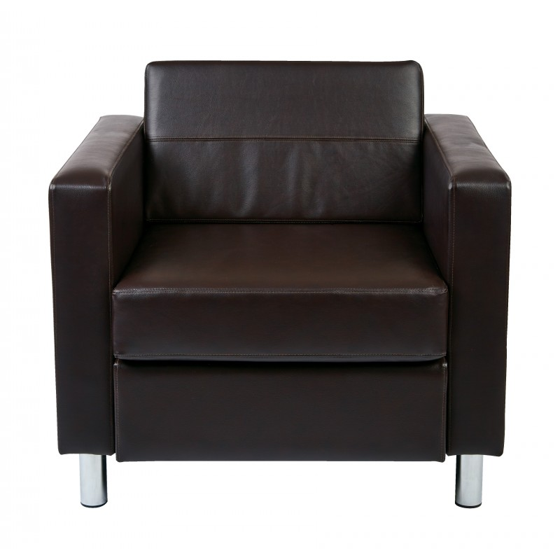 OSP Designs Pacific Armchair - Brown (PAC51-V34)
