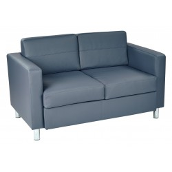 OSP Designs Pacific Love Seat - Blue (PAC52-R105)