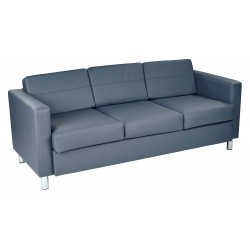 OSP Designs Pacific Sofa Couch - Blue (PAC53-R105)