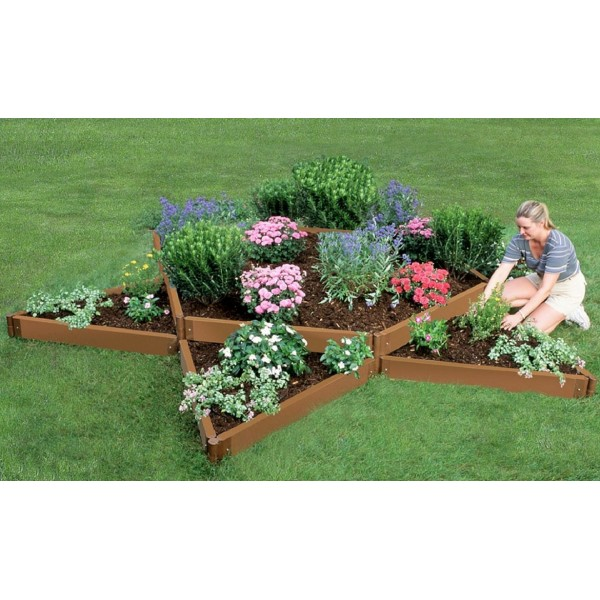 "Frame It All 12' x 12' x 11"" Classic Sienna Raised Garden Bed ..."