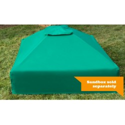 Frame It All Square Sandbox Kit 4x4 w/ Collapsible Cover (300001509)