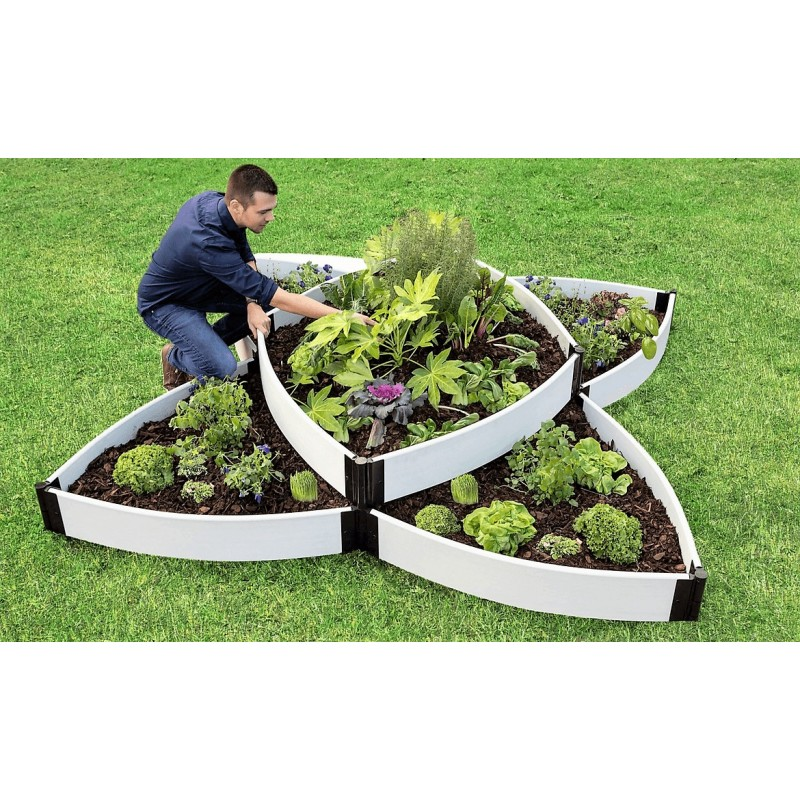 Frame It All Monarch Migration Station Deluxe Butterfly Pollinator Garden - White (300001507)