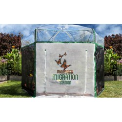Frame It All Pro Butterfly Learning Center - 8ft. X 7ft. Hexagon (1 Inch Profile) [300001504]