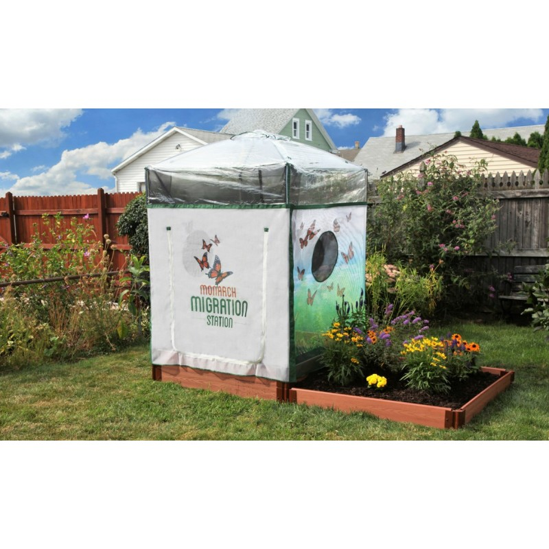 Frame It All Backyard Butterfly Pollinator - 4ft. X 8ft. Rectangle (1 Inch Profile) [300001503]