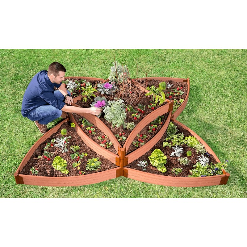 Frame It All Raised Garden Versailles Sunburst 1in (300001197)