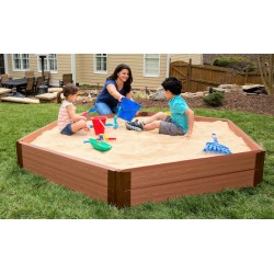 Frame It All Sandbox Hexagon 7x8 1in. 2 Level (300001228)