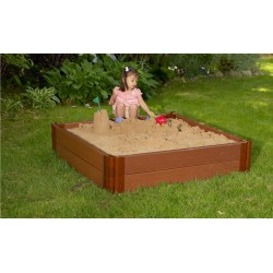 Frame It All Square Sandbox 4x4 2in. 2 Level (300001245)