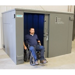 Swisher ESP 20 Person Tornado Shelter w/ Wheelchair Access (SR114X84G)