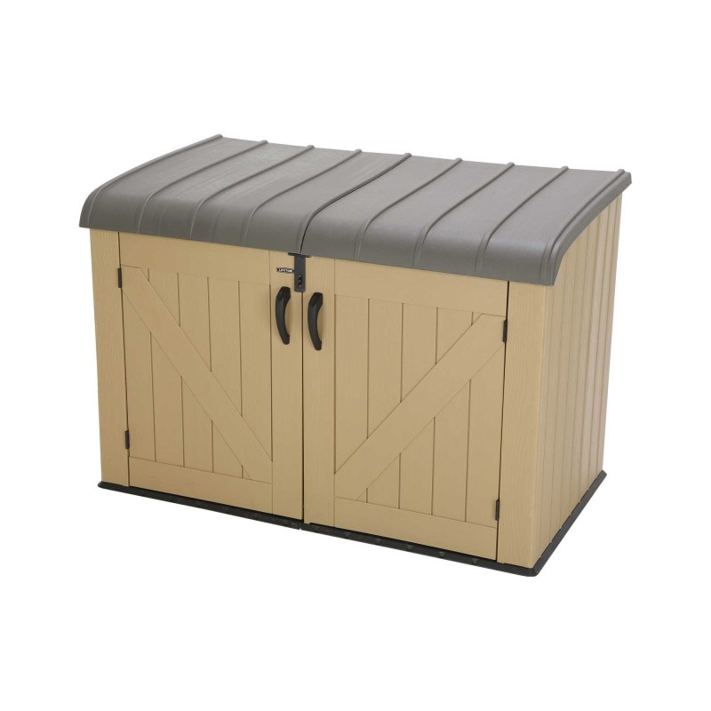 Lifetime Sheds 561 Gallon Plastic Horizontal Storage Box (60165)
